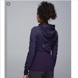 Lululemon Black Grape Dance Studio Jacket III